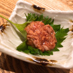 蕎肆 穂乃香 - 鯛わた 550円