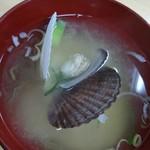 109981379 - ホタテの味噌汁