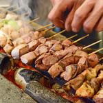 西口やきとん - 料理写真:焼き台