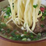 なかむら屋 - 沖縄そばの麺