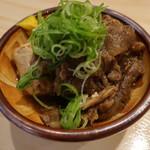 お魚とおばんざい なんばなかじゅにや - 旨味たっぷり和牛すじ豆腐