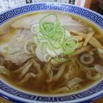 109988473 - 太麺中華そば(750円)