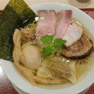麦と麺助 - 料理写真:特製イリコそば(*´ー`*)