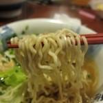 一蔵 - 鮭ぶし舞茸らーめん 麺