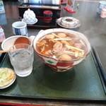 みやはら 大村庵 - 鴨南蛮 900円 味もなかなかで量も多い。