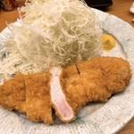 109990964 - ロースカツ定食 1300円