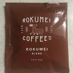 ROKUMEI COFFEE CO. NARA - ロクメイブレンド(ドリップバッグ)