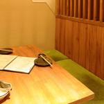 ご当地酒場 長崎県五島列島 小値賀町 - 内観半個室(2名席)