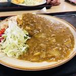 込山食堂 - 料理写真:カレーチャーハン680円