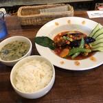 中華バルSAISAI。 - メイン、ご飯、スープ