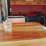 ガフウ ダイナー - テーブル上の様子。