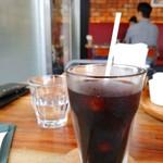 ガフウ ダイナー - アイスコーヒー。