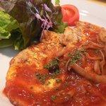 イタリアン食堂 ヒロ - 日替わりランチ(豚肉のピカタ)