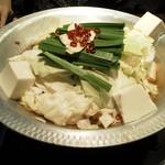 ぶあいそ - もつ鍋(醤油)1,200円