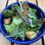 OUTDOOR CAFE MEER LOUNGE - セットのサラダ