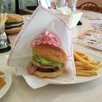 ミサロッソ - ベーコン・エッグバーガーセット/770円(これにドリンクも付いてます)