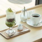 オレンジカフェ - 料理写真:抹茶パフェ