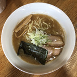 らーめん心繋 - 料理写真:濃厚(こってり醤油) 800円