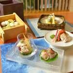 日本料理 僖成 - 料理写真:料理人が丁寧に仕込む鱧料理を取り揃えた夏季限定懐石