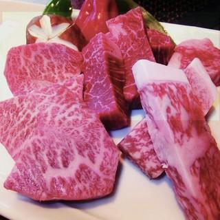 日本各地のブランド牛をはじめ、吟味された新鮮和牛が味わえる店