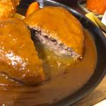 洋食春 - 肉汁たっぷり