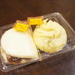 Houei - 肉汁豚まん、神戸角煮バーガー