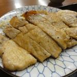 かめや - 豚肉生姜焼き \300