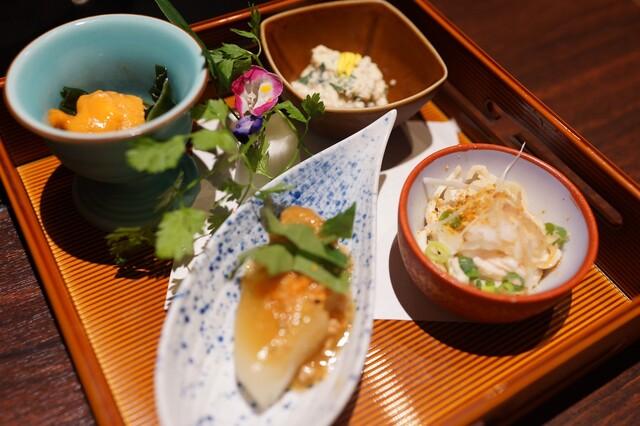 焼き鶏と水炊き ふく将 新宿の料理の写真