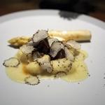 110026689 - リコッタチーズのニョッキ 飛騨牛ラグー トリュフ ホワイトアスパラ