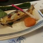 和歌里 - 鮎の塩焼き&たで酢