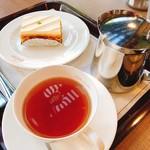 ミルフィーユ - 料理写真:ケーキセット