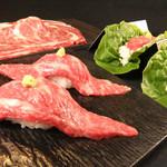 焼肉 嬉野 - ぶっちぎり肉寿司