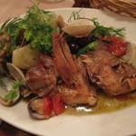 トラットリア ラ カヴァリーナ - メインのお魚料理