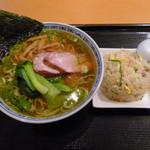 Oukegyouza - ランチの「醤油ラーメン、小炒飯セット」