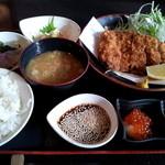 11003734 - 沖縄豚とんかつ御膳(1800円)