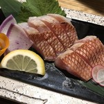 玄海の活魚と糸島直送の食 博多居酒屋 どげん海 - 金目鯛