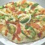 インド家庭料理 サンタナ - ミックスピザ