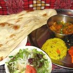 インド家庭料理 サンタナ - プーリ―セット