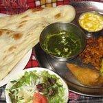 インド家庭料理 サンタナ - ベジタブルセット