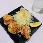 とんかつと和食の店 長八 - ミニ地鶏の唐揚げ