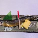 とんかつと和食の店 長八 - 秋刀魚の塩焼き