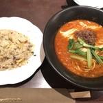 中国料理随園 - 料理写真:担々麺セット990円