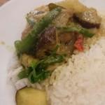 タイ国専門食堂 -      グリーンカレー