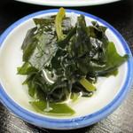 魚竹 - ワカメの酢の物