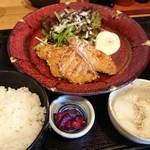 金市朗 - マグロの竜田揚げ定食