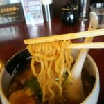 あらとん - 醤油ら~めん/麺