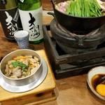 brochette Namioka - コーチンのちゃんこ鍋とコーチンの五目釜飯