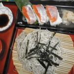 110057451 - チップ寿司とおそば