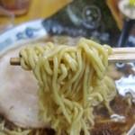 旭川らぅめん青葉 - 正油らぅめん 麺