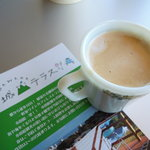 城山テラス ジロウわいんかふぇ - ミルクコーヒー